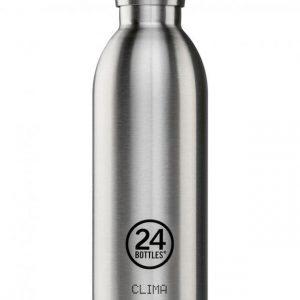 24Bottles Clima Thermosflasche Stahl 0,5l steel