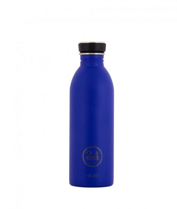 24Bottles Trinkflasche 0,5 Liter gold blue
