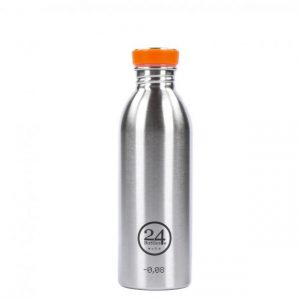 24Bottles Trinkflasche 0,5 Liter steel