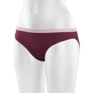 ThokkThokk TT28 Bikini Panty bordeaux Fairtrade GOTS