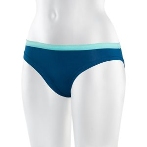 ThokkThokk TT28 Bikini Panty peacock Fairtrade GOTS