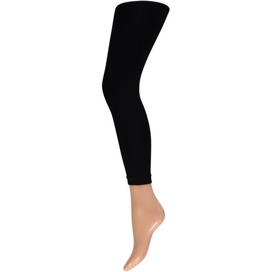 Basic leggings 200 denier zwart voor dames