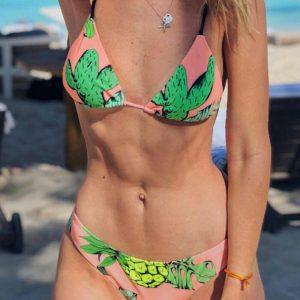 Cactus Pineapple Sexy Bikini Set without Necklace