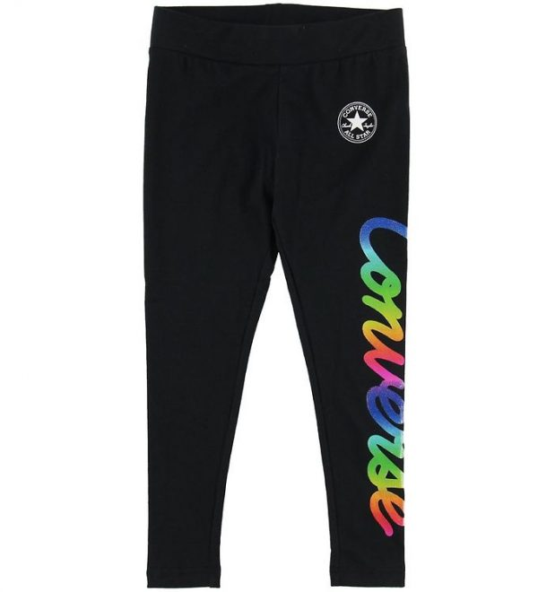Converse Leggings - Sort m. Logo