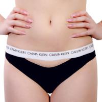 Damen Bikini Slip 658 Classic Black White