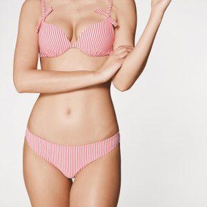 Gestreiftes Push-Up-Bikini-Oberteil Isabella