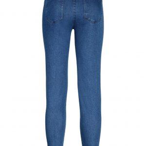 Girls' jeans leggings cat pattern all over