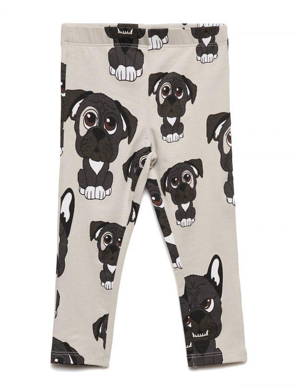 Leggings Multi-Animal Hunden Light Beige Leggings Beige Tao & Friends