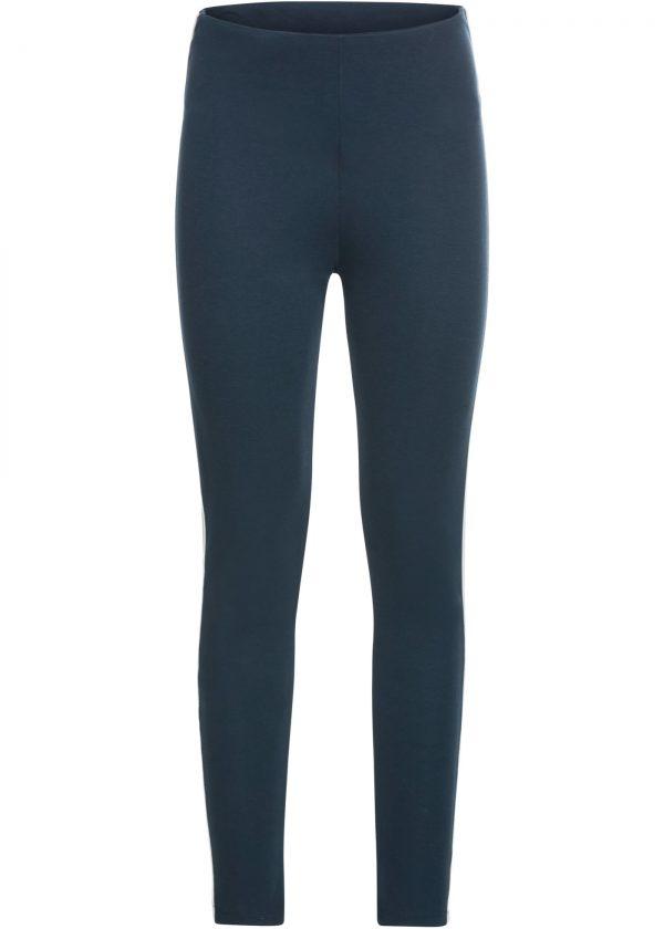 Leggings con bande laterali (Blu) - BODYFLIRT