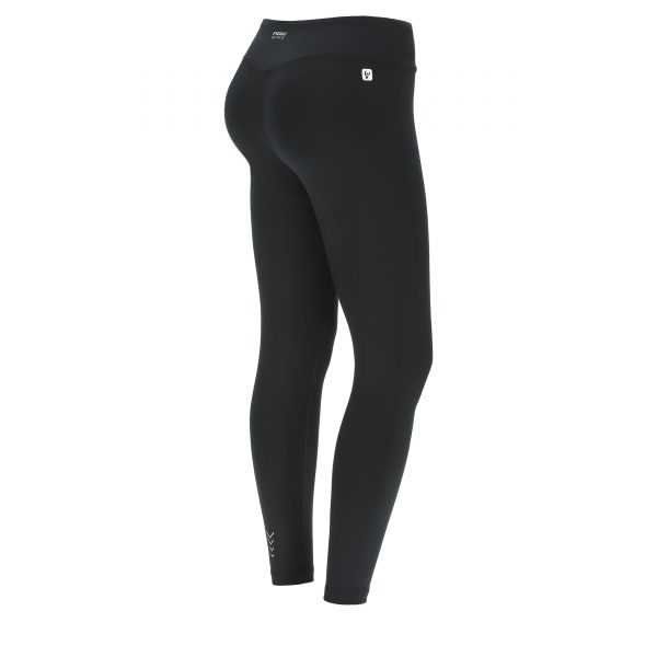 Leggings donna fitness 7/8 modellanti effetto shape
