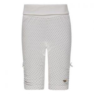 Steiff Girls Leggings, hvide med prikker - Gr.56 - Pige