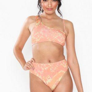 Topshop Tie Dye High Waist Bikini Bottoms Trusser