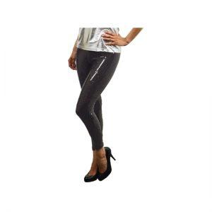Zwarte legging met pailletten